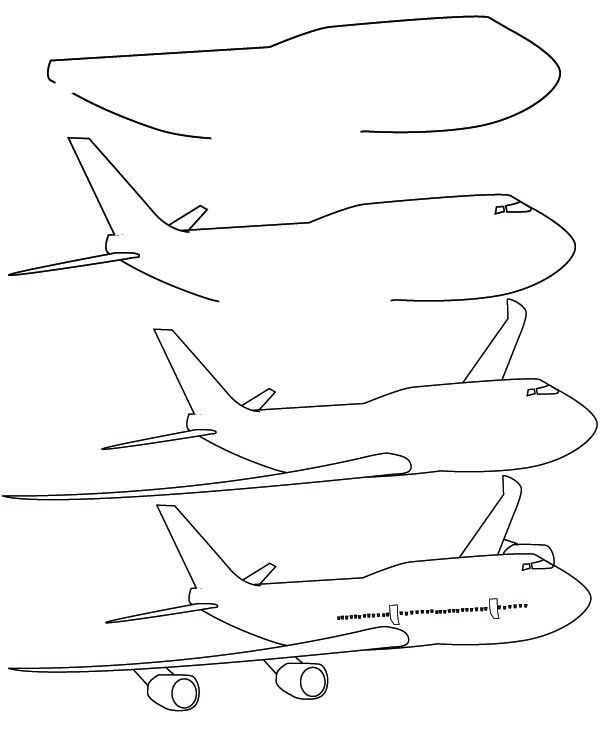 how to draw an airplane step by step how to draw an airplane with easy step by step drawing step step to how airplane an by draw