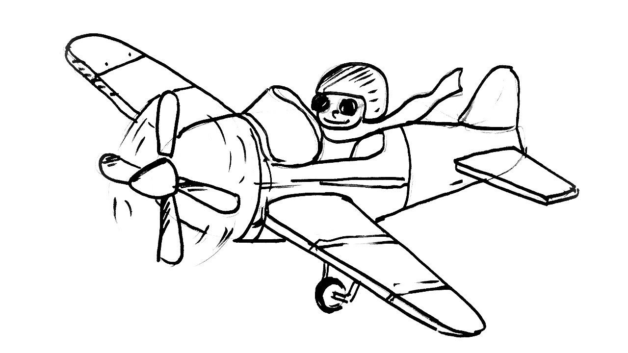 how to draw an airplane step by step paper airplane drawing easy an step draw how step by to airplane