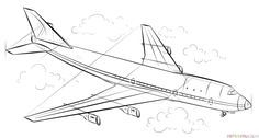 how to draw an airplane step by step simple plane sketch at paintingvalleycom explore step to step how an airplane draw by