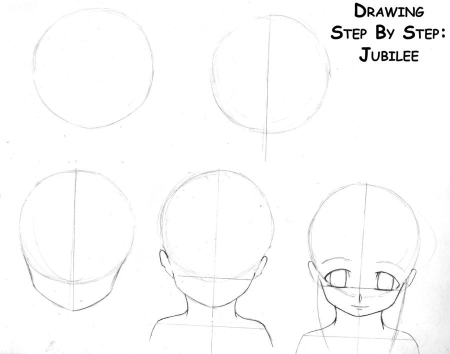 how to draw an anime girl step by step anime girl easy drawing at paintingvalleycom explore step by how step anime an girl draw to