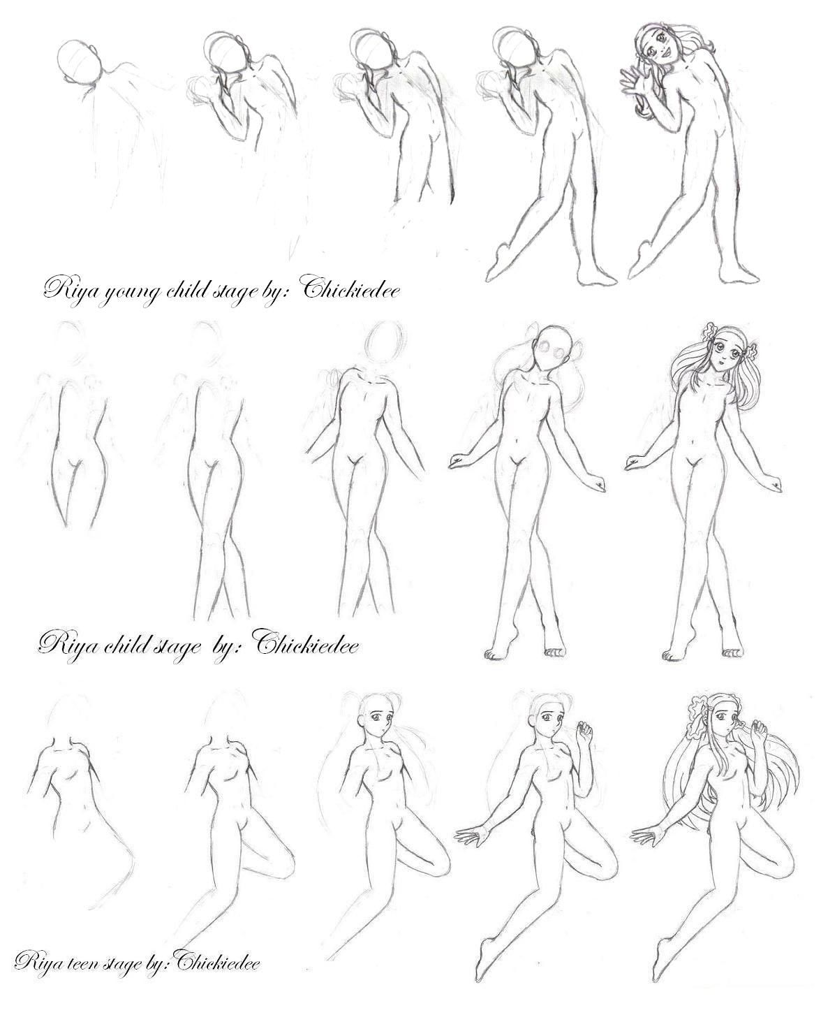 how to draw an anime girl step by step animestepbystepdrawinghead drawing anime steps page girl draw step by anime an how step to