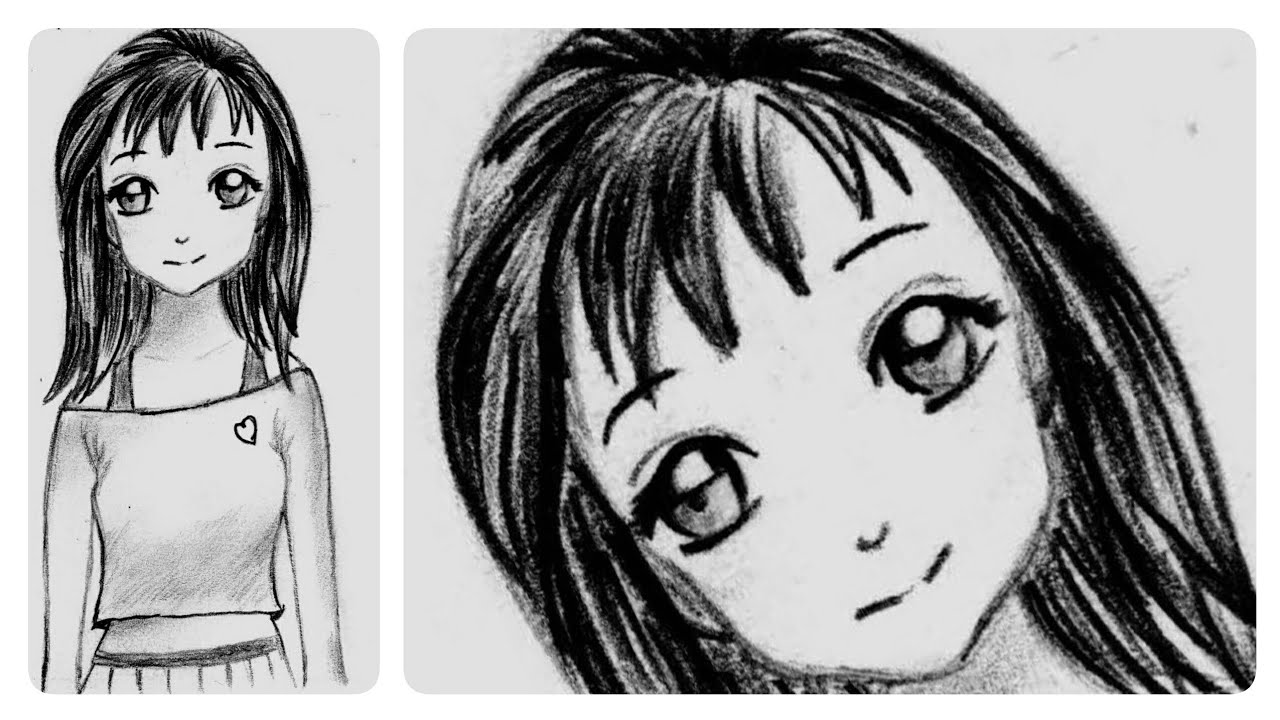 how to draw an anime girl step by step beginner steps to draw anime girl by to how anime step an step draw girl