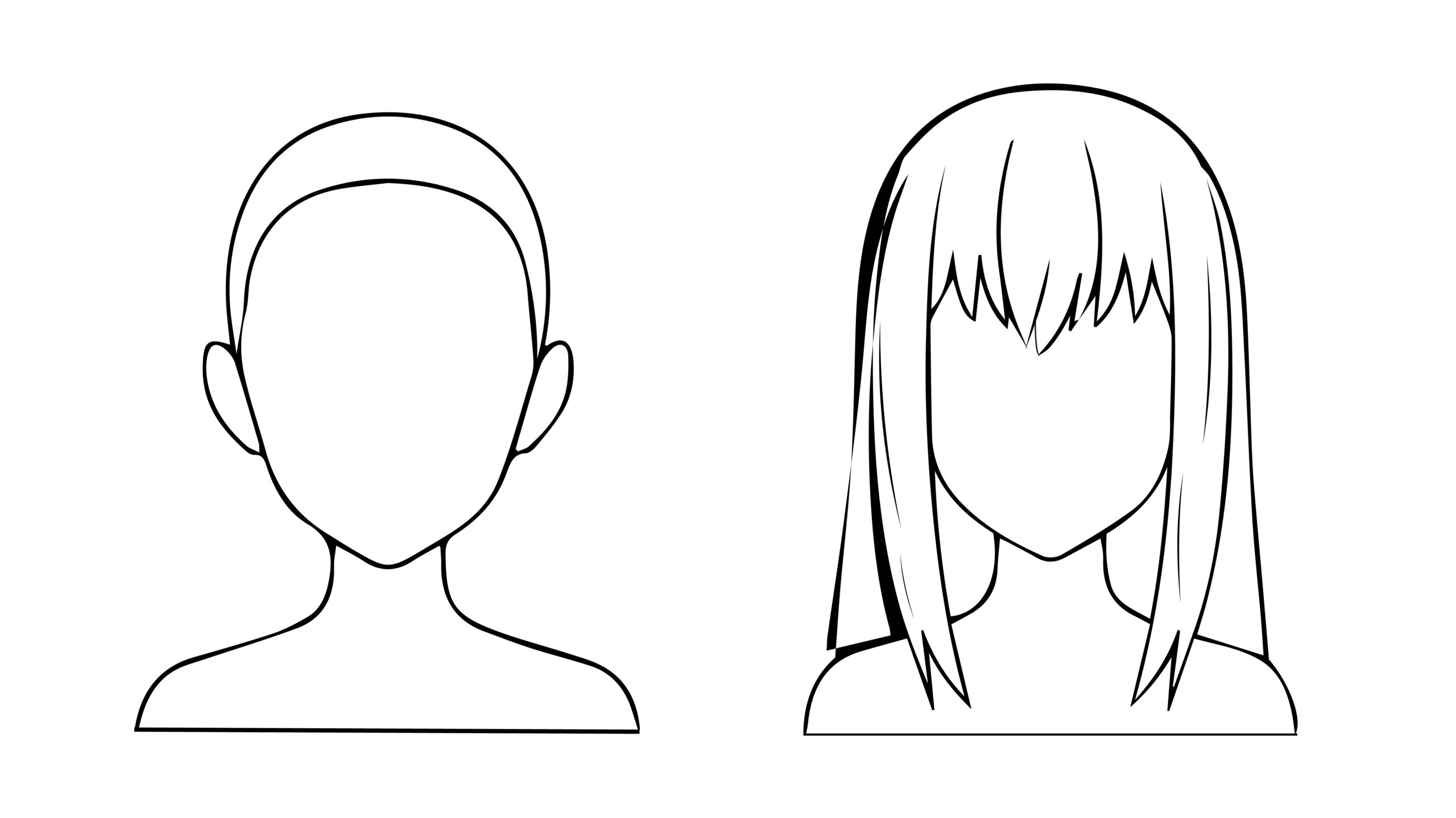how to draw an anime girl step by step how to draw anime and manga hair female in 2020 manga how an anime draw girl step to by step