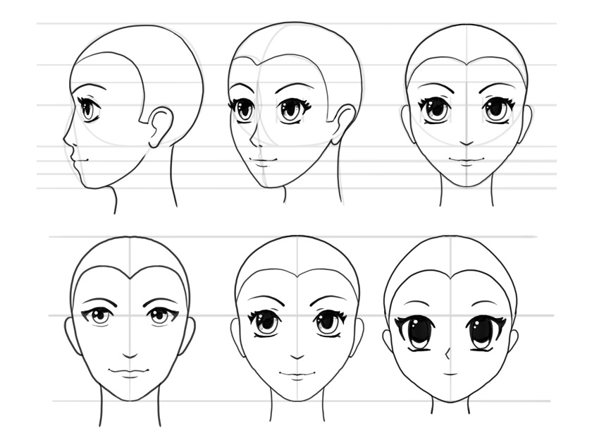how to draw an anime girl step by step ruokavalikko anime girl face drawing easy step by step by how step draw an girl anime step to