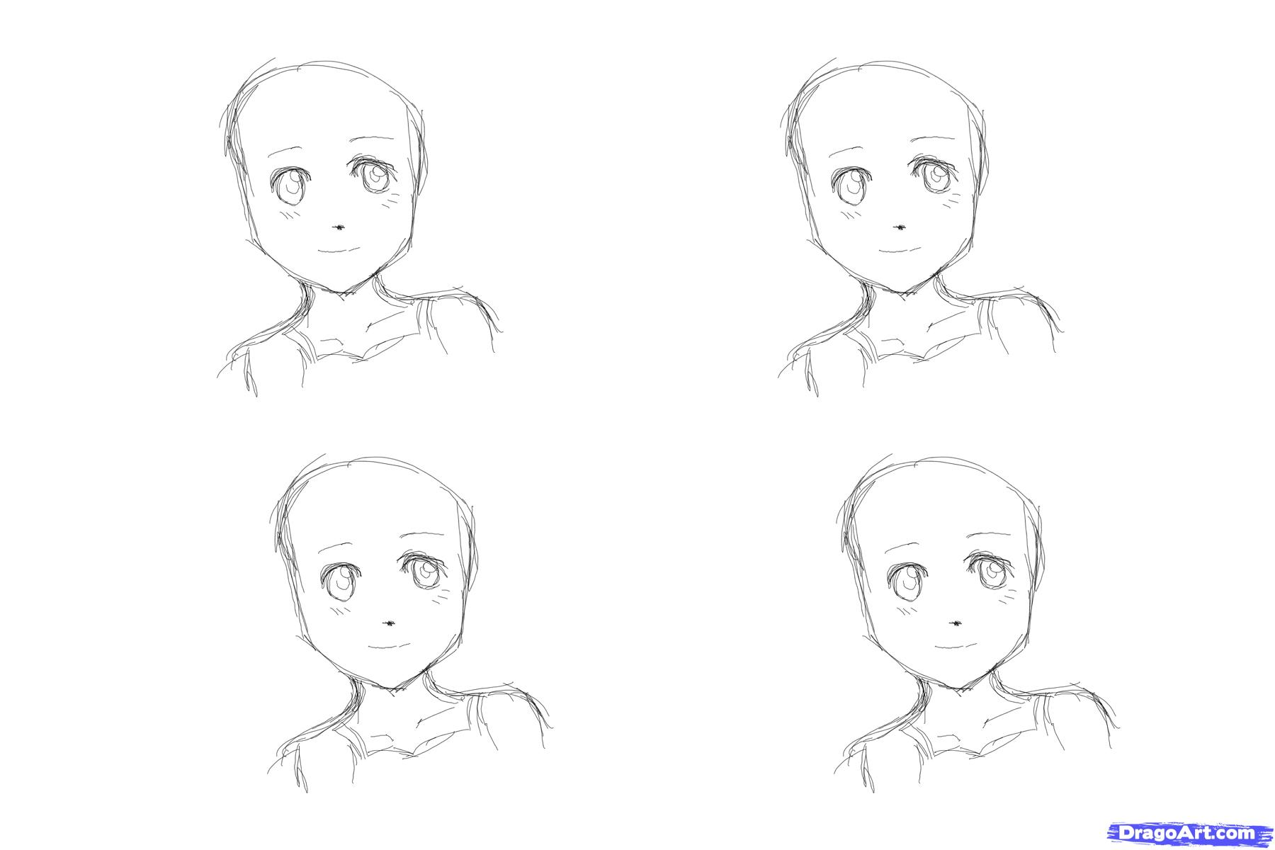 how to draw an anime girl step by step to draw anime hair for girls step by step anime hair an step step anime girl by draw how to