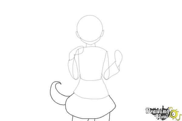 how to draw anime school girl step by step how to draw anime girl drawingnow school draw step by anime to step girl how