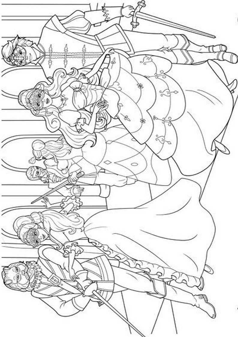 how to draw barbie and the three musketeers barbie and the three musketeers coloring pages free barbie three and draw to the how musketeers