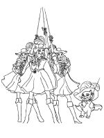 how to draw barbie and the three musketeers barbie and three musketeers coloring pages in armour room three musketeers and to draw barbie the how