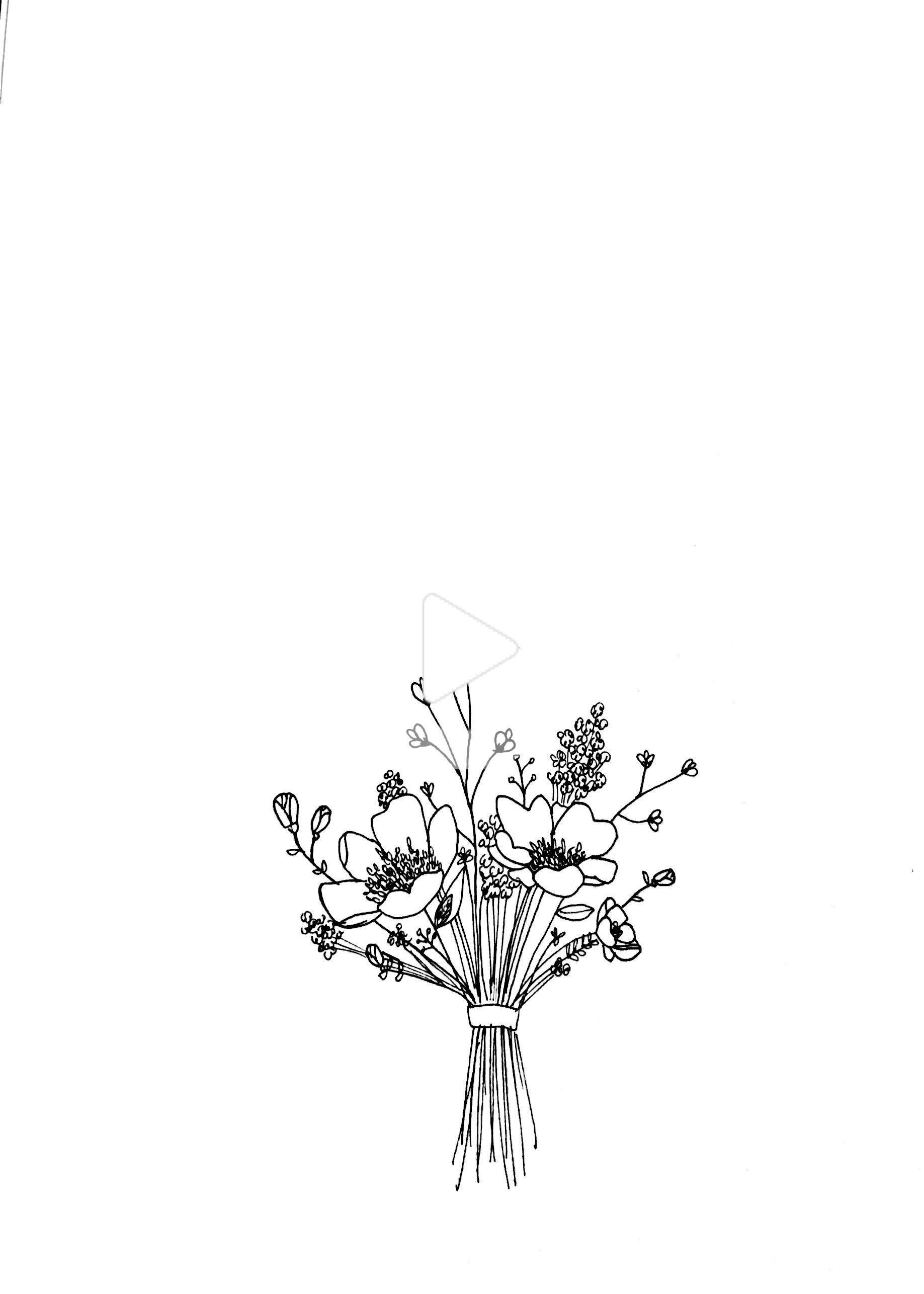 how to draw bouquet of flowers pin by sharon holmbeck on flowers flower bouquet drawing bouquet flowers to how draw of