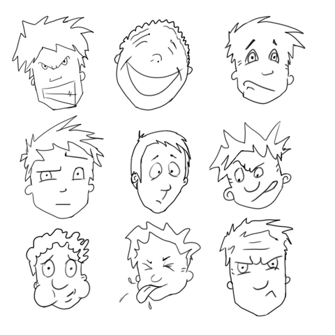 how to draw cartoon characters learn to draw cartoons lesson 1 the comic head draw cartoon characters how to