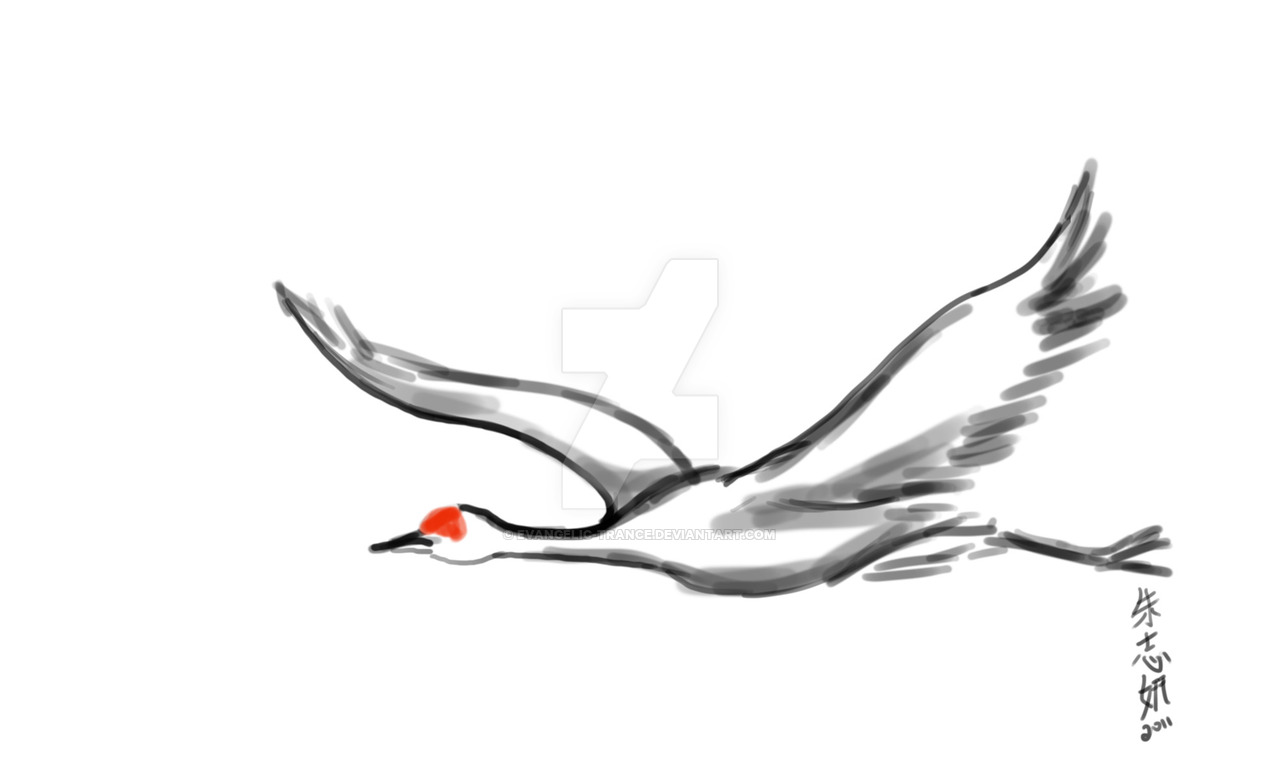 how to draw crane bird japanese crane drawing free download on clipartmag draw crane to bird how