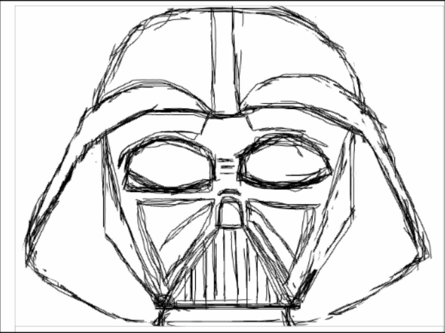 how to draw darth vader mask darth vader face drawing free download on clipartmag to how vader mask draw darth