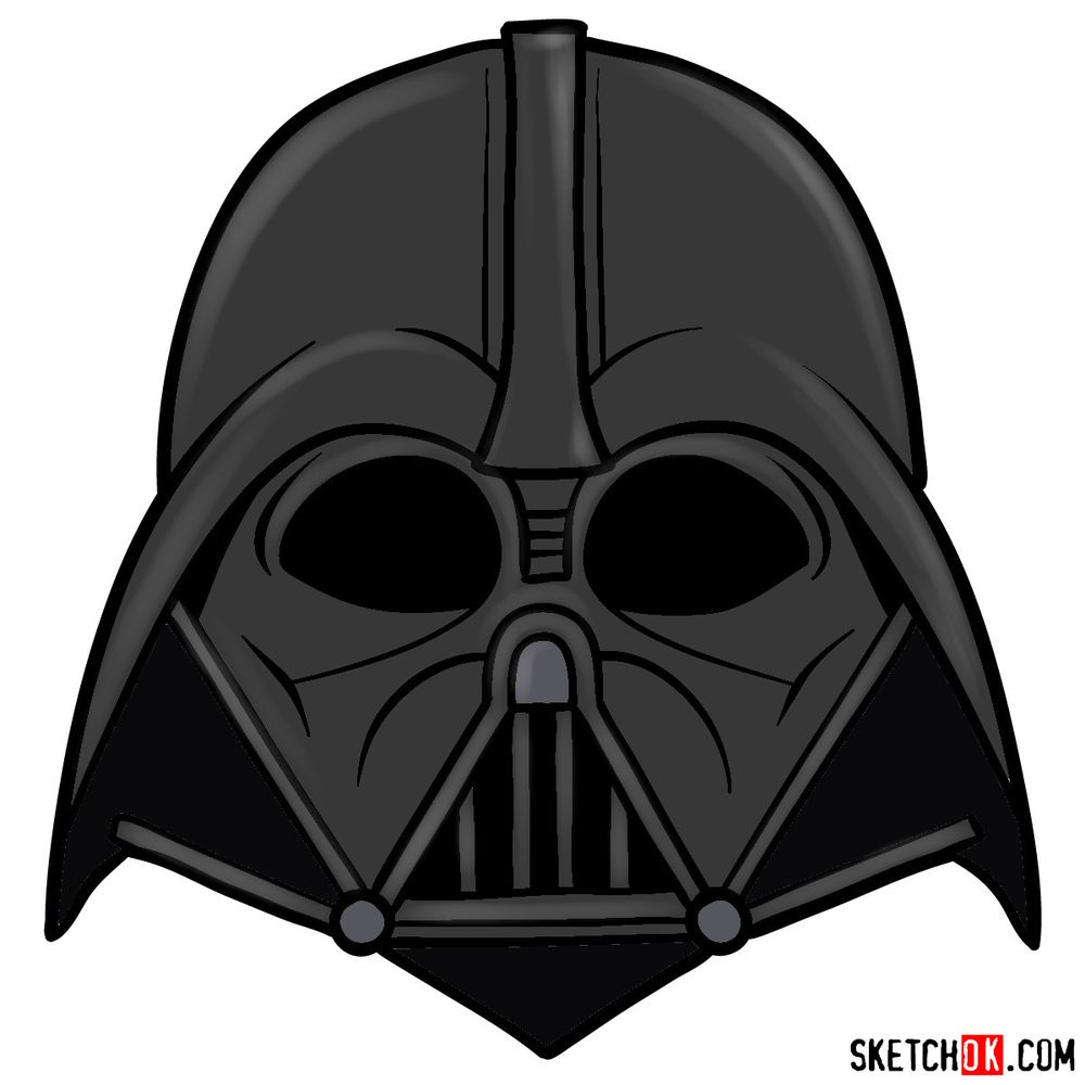 how to draw darth vader mask darth vader helmet mask template free printable mask draw darth how vader to