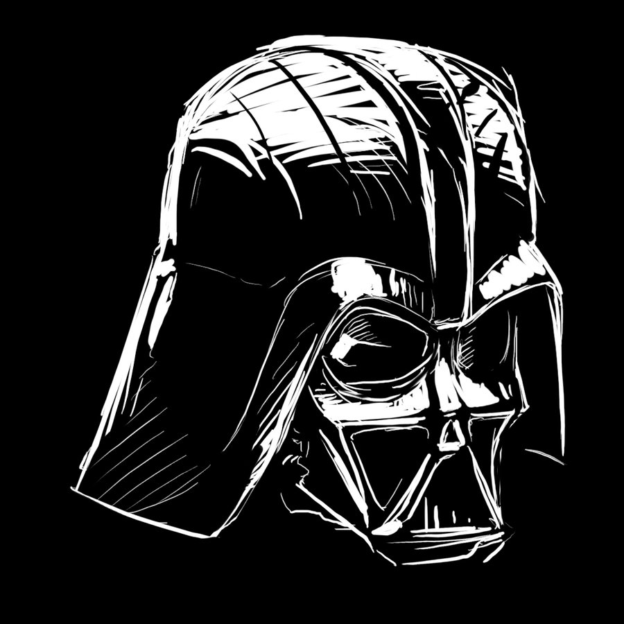 how to draw darth vader mask drawing face vader helmet darth vader helmet to how mask vader darth draw
