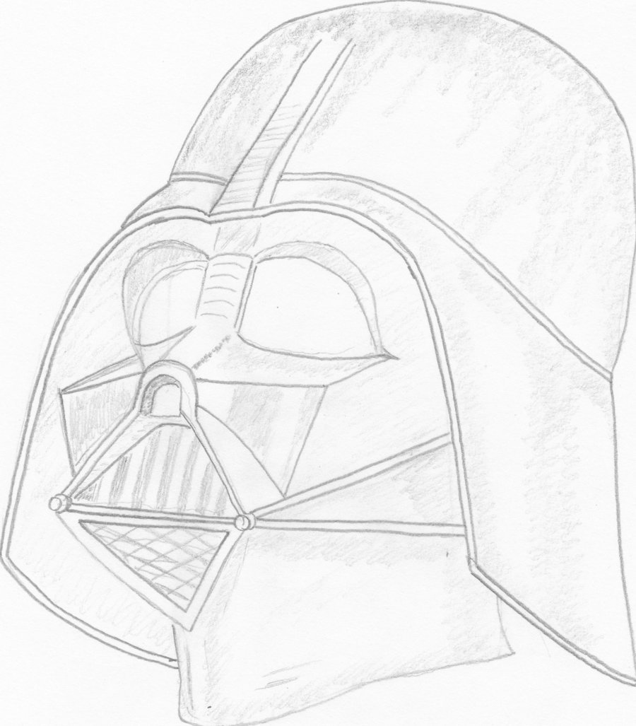 how to draw darth vader mask how to draw darth vader step by step easy drawing guides mask draw to darth how vader