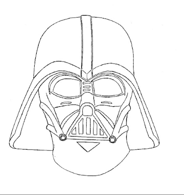 how to draw darth vader mask how to draw darth vader39s mask sketchok step by step how to darth draw vader mask