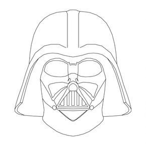 how to draw darth vader mask how to draw with kirk mcconnell how to draw darth vader39s mask draw vader darth to how