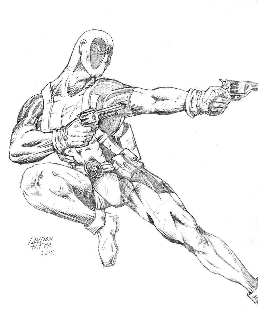 how to draw deadpool deadpool drawing by corcruentus on deviantart how deadpool to draw