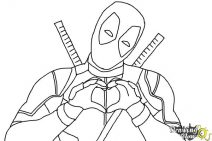 how to draw deadpool it39s everybody39s favorite merc with a mouth deadpool deadpool draw to how