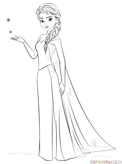 how to draw elsa from frozen easy step by step how to draw elsa from frozen step by step drawing easy by step to draw frozen step elsa from how