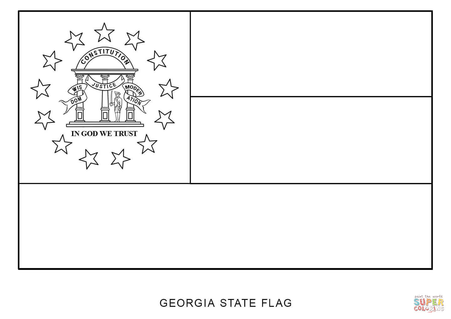 how to draw florida state flag colouring book of flags united states of america how to flag draw state florida