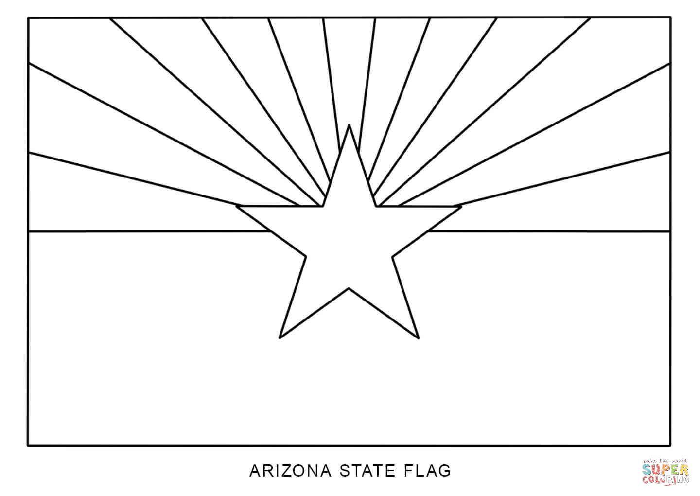 how to draw florida state flag flag of arizona coloring page free printable coloring pages flag to how florida draw state