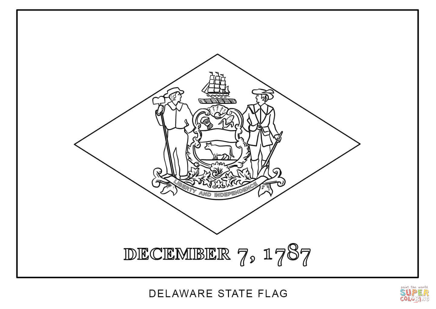how to draw florida state flag flag of delaware coloring page free printable coloring pages flag draw to how state florida