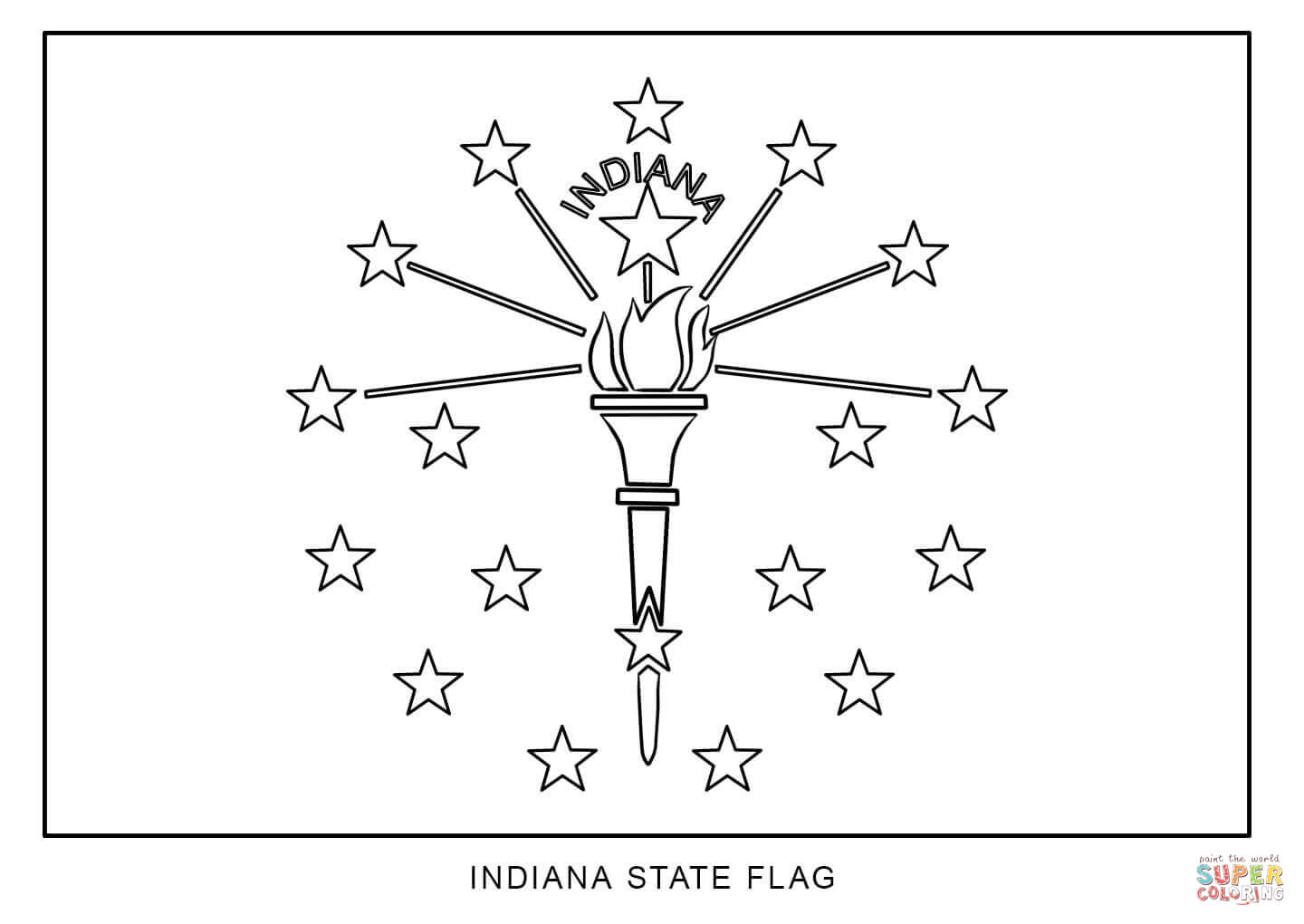 how to draw florida state flag flag of indiana coloring page free printable coloring pages flag florida draw state to how