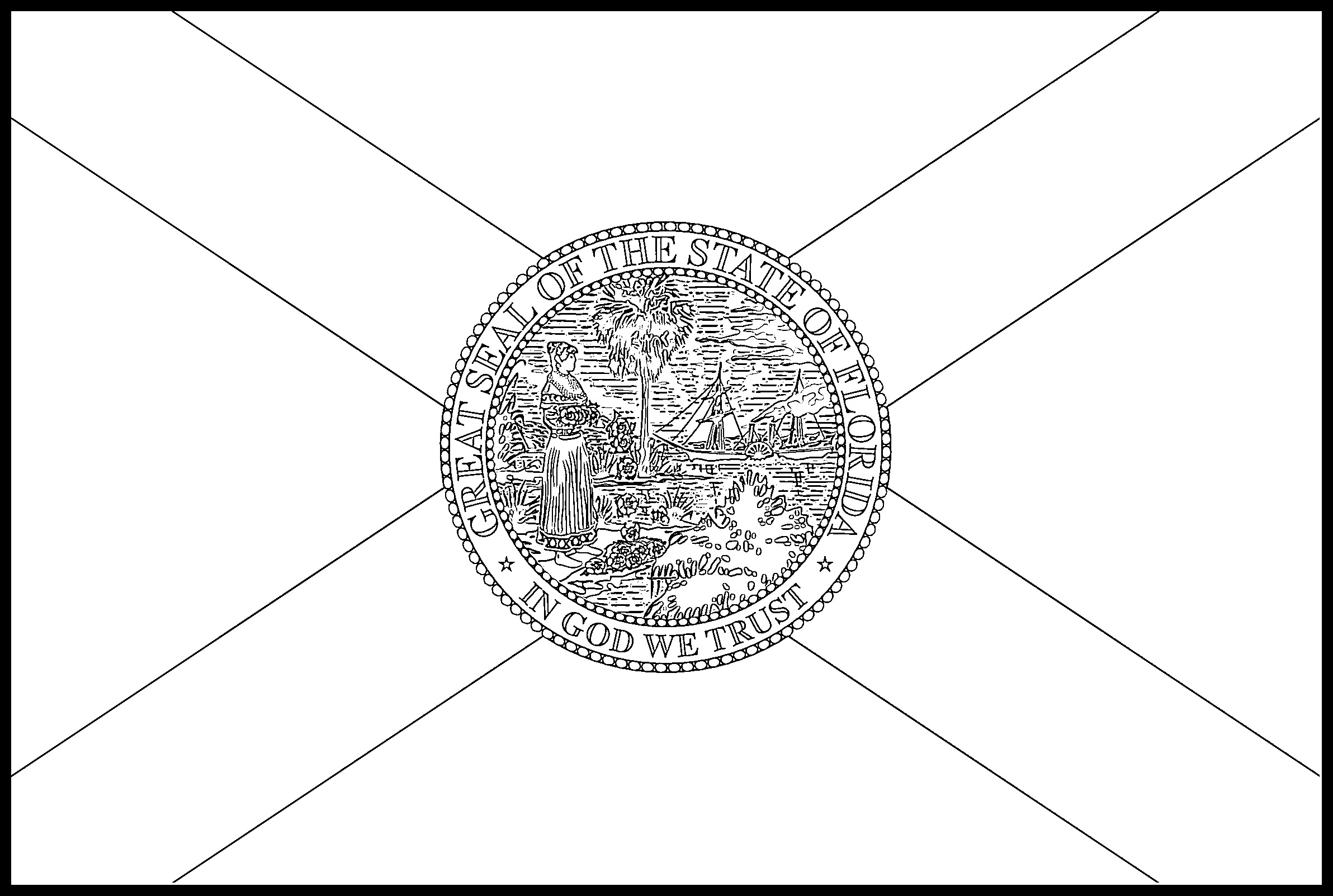 how to draw florida state flag florida flag coloring page state flag drawing flags web flag how draw state florida to