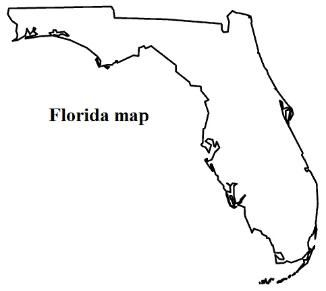 how to draw florida state flag florida map and flag coloring pages road trip florida to draw how flag state