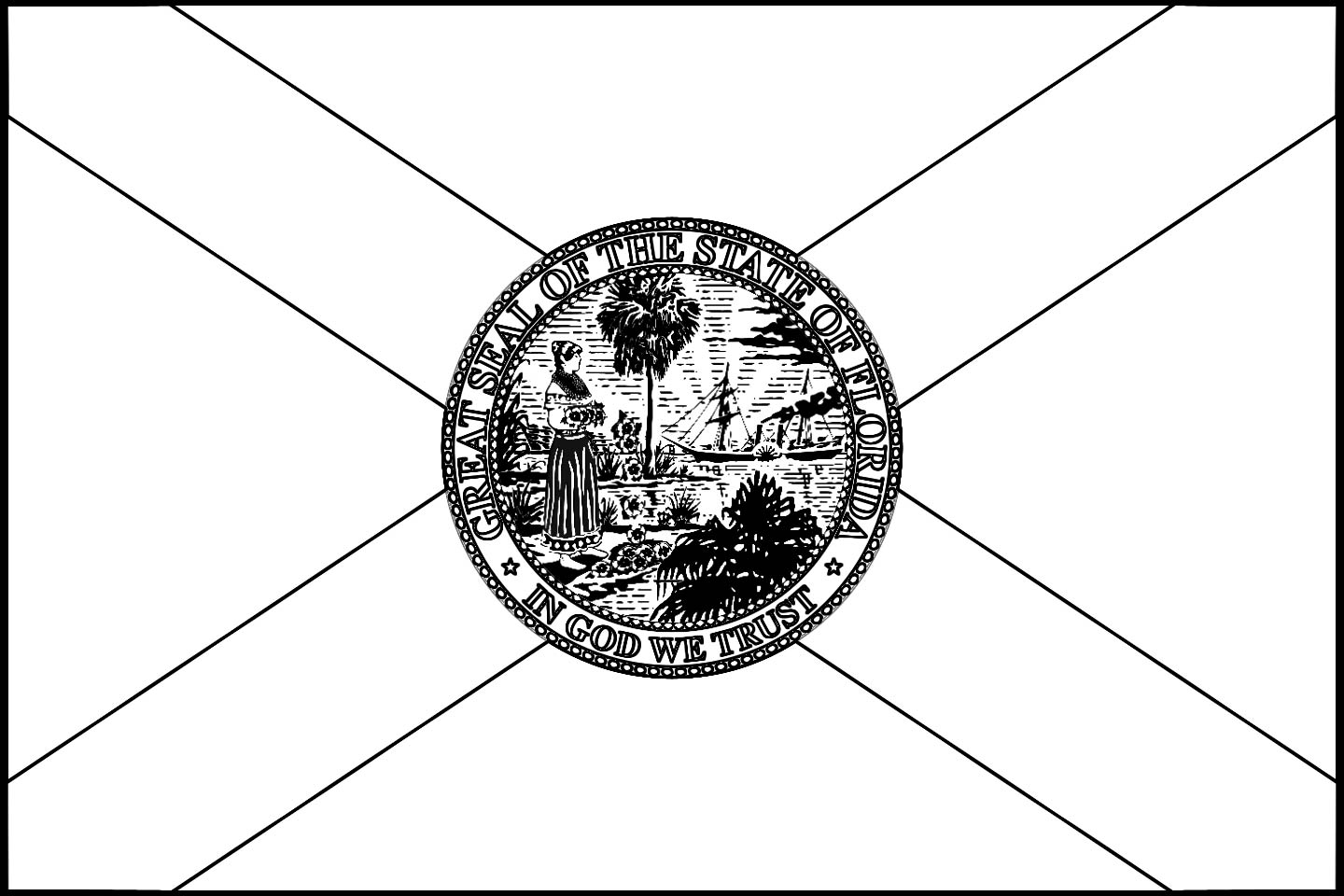 how to draw florida state flag florida state flag to how state florida draw flag