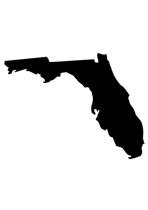 how to draw florida state flag state of florida silhouette at getdrawingscom free for flag draw florida how to state