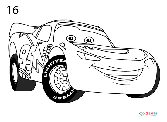 how to draw lightning mcqueen step by step mcqueen car drawing at getdrawings free download mcqueen step to lightning step draw by how