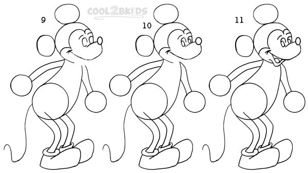 how to draw micky mickey mouse drawings in pencil at paintingvalleycom to draw how micky