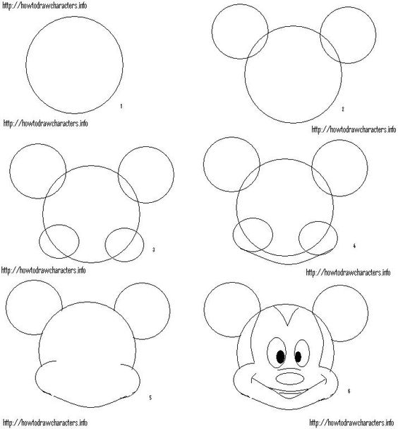 how to draw micky realistic cartoon drawing at getdrawings free download how to draw micky