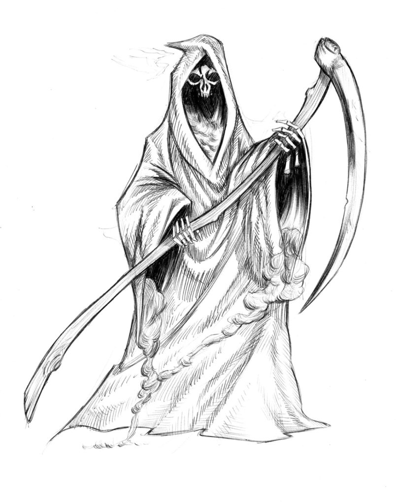 how to draw the grim reaper grim reaper drawing at getdrawings free download how grim the reaper draw to