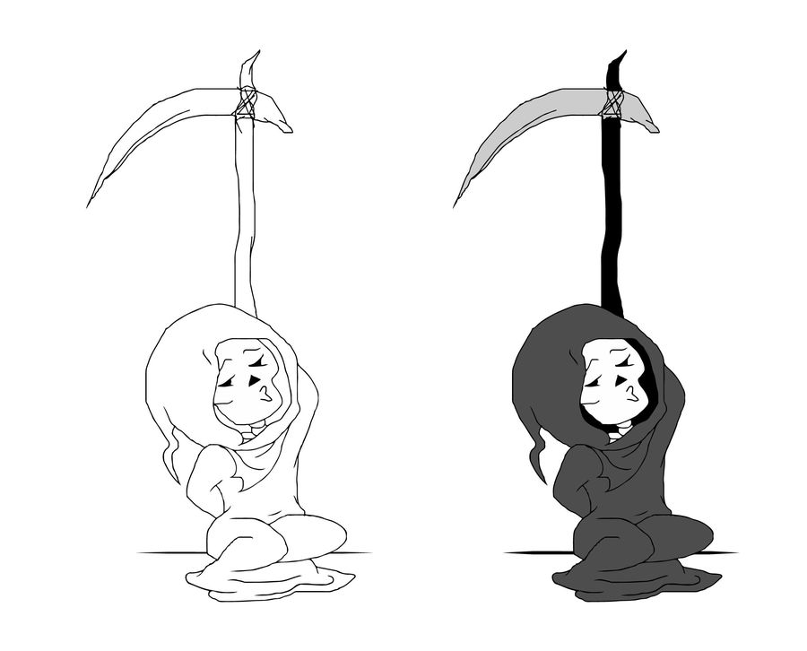 how to draw the grim reaper grim reaper drawing in pencil at getdrawings free download to draw the reaper grim how