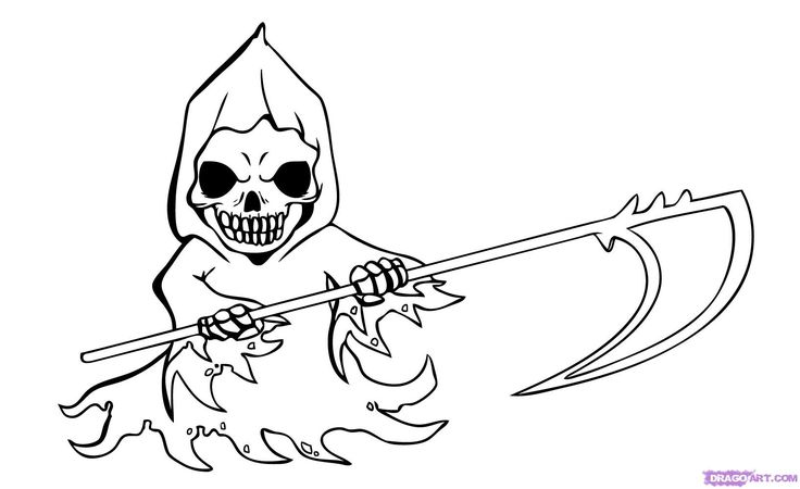 how to draw the grim reaper grim reaper drawing photo drawing skill grim how reaper to the draw