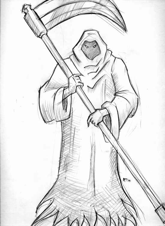 how to draw the grim reaper how to draw the grim reaper step by step creatures the grim draw to reaper how