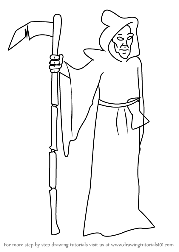 how to draw the grim reaper learn how to draw grim reaper from kids next door to reaper how grim draw the