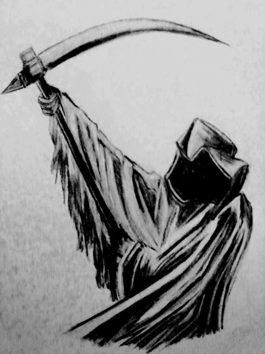 how to draw the grim reaper simple grim reaper drawing at getdrawings free download the to how reaper draw grim