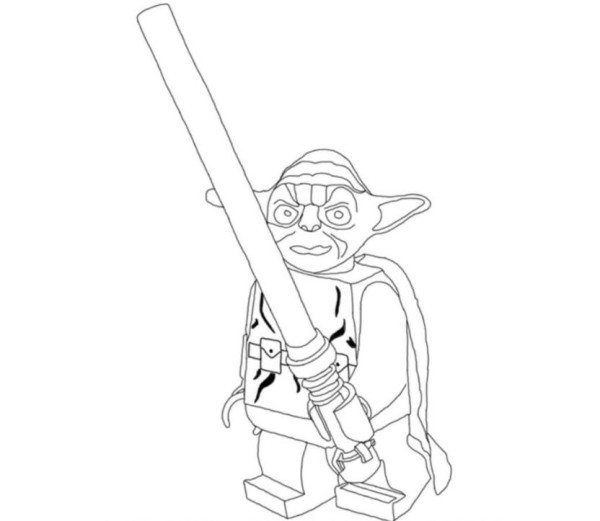 how to draw yoda with lightsaber for pin the light saber on yoda star wars birthday party how draw to yoda with lightsaber