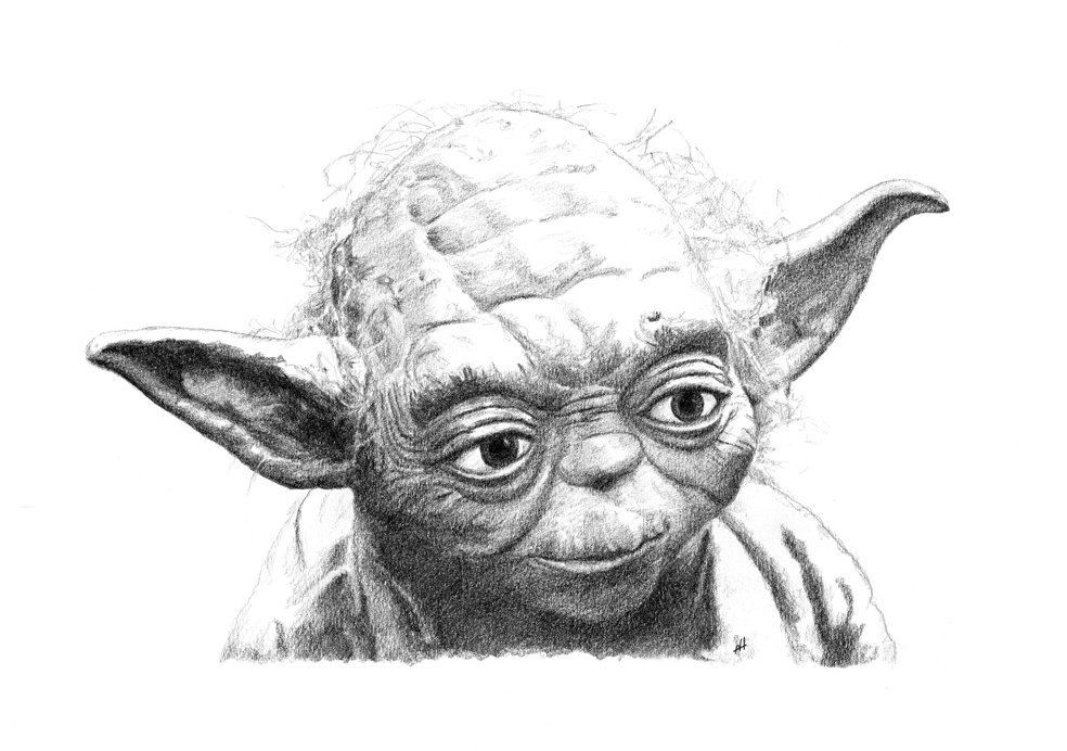 how to draw yoda with lightsaber how to draw yoda in 2020 yoda drawing cool sketches with how yoda lightsaber to draw