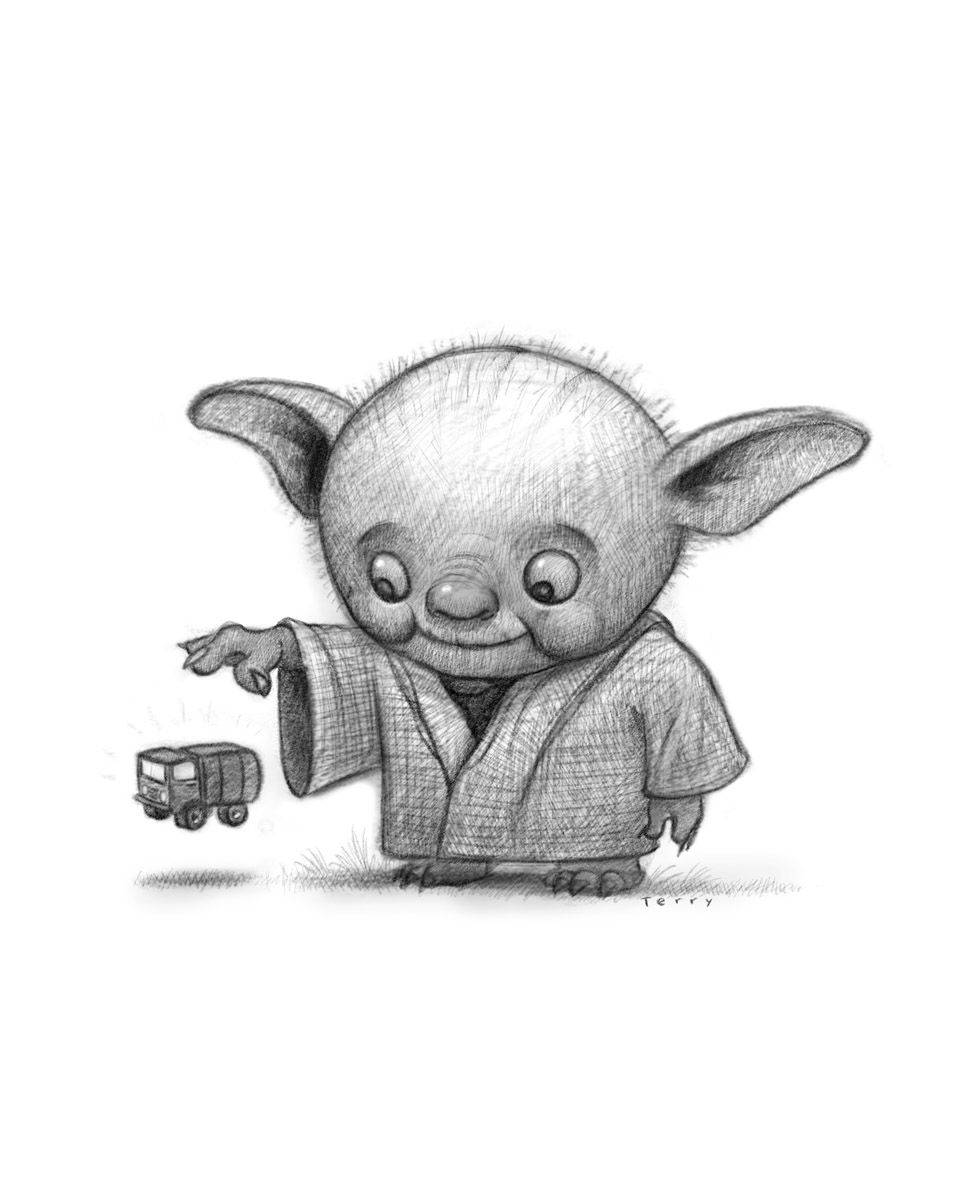 how to draw yoda with lightsaber how to draw yoda step by step drawingforallnet lightsaber to with yoda draw how