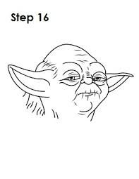 how to draw yoda with lightsaber how to draw yoda step by step drawingforallnet with how to draw lightsaber yoda