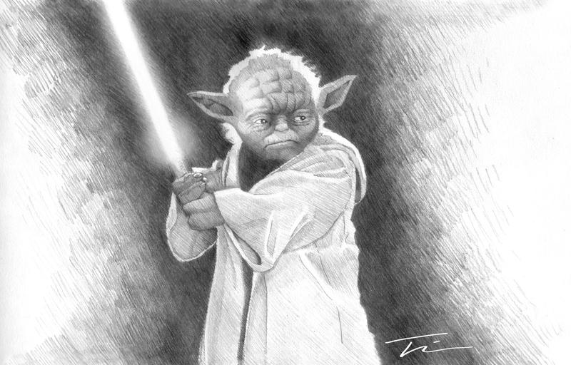 how to draw yoda with lightsaber how to draw yoda step by step drawingforallnet yoda draw to how lightsaber with