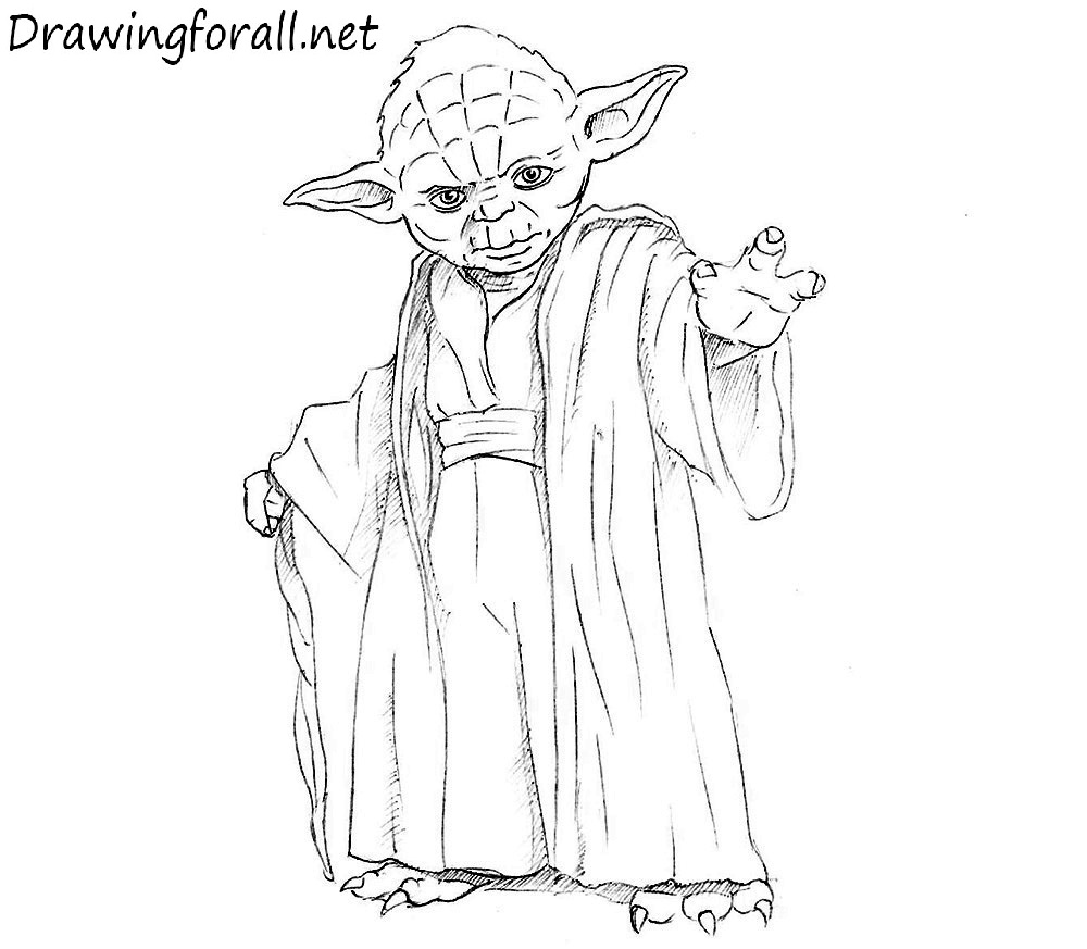 how to draw yoda with lightsaber image result for how to draw yoda easy yoda drawing lightsaber how yoda draw to with