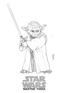 how to draw yoda with lightsaber yoda by eldelgado on deviantart lightsaber to how with draw yoda