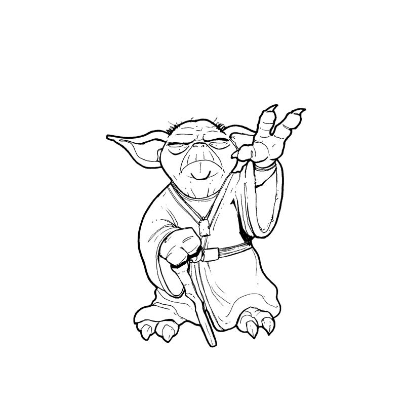 how to draw yoda with lightsaber yoda le maÎtre jedi 2016 crayon sur papier a6 star lightsaber to draw how with yoda