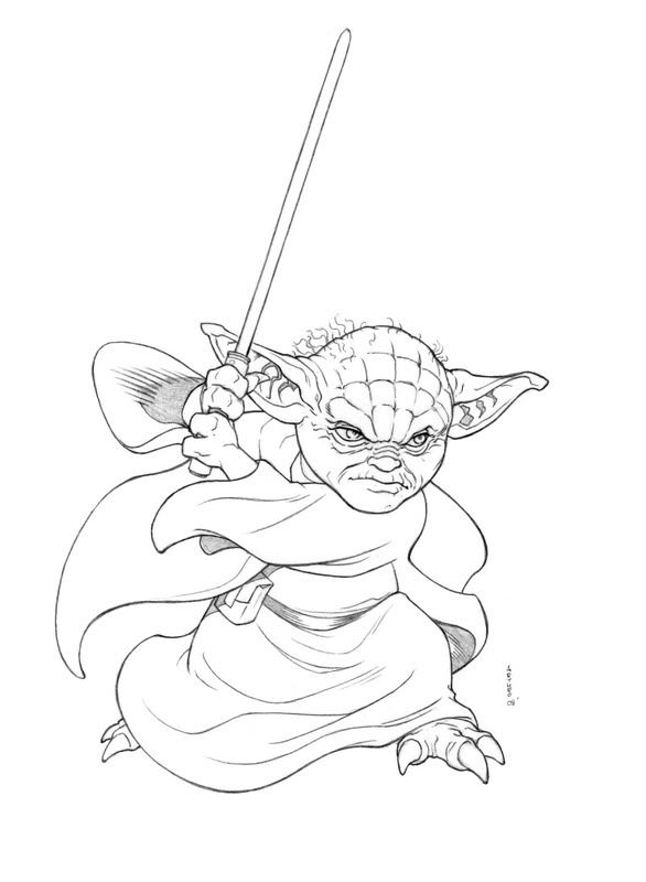 how to draw yoda with lightsaber yoda line drawing at getdrawings free download how yoda to with lightsaber draw